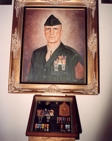 Sergeant Major Leland D