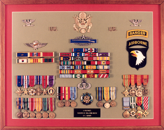 David hackworth medals quotes for Army awards and decoration